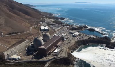 Diablo Canyon Nuclear Power Plant, courtesy PG&E